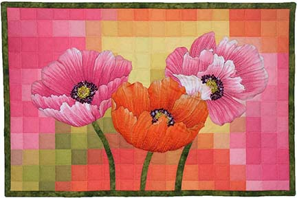 Pixel Pizzazz 1 Poppies