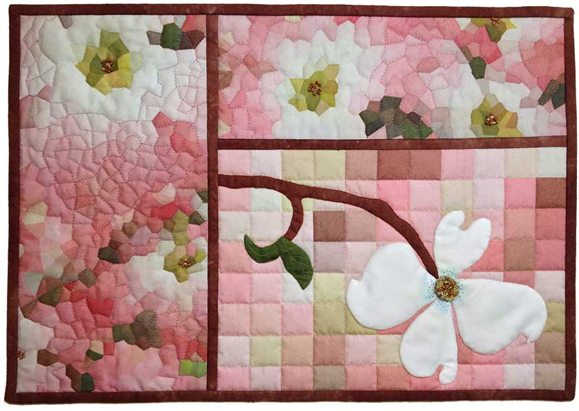 Electric Quilt, Photoshop Elements for Quilters, Classes ... : dogwood quilt pattern - Adamdwight.com